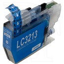 Brother LC-3213C kompatible Druckerpatrone cyan mit Chip