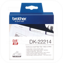 Brother DK-22214 Endlos-Etikett, Papier weiß 12mm