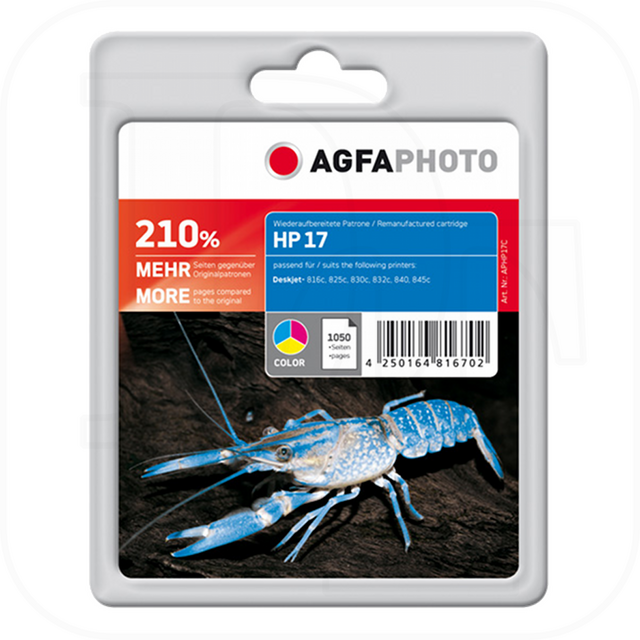 AGFAPhoto APHP17C Remanufakt. HP 17